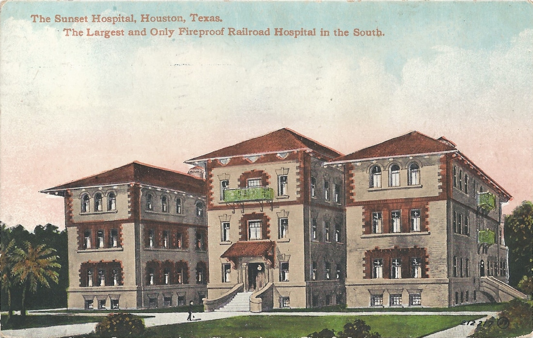Southern Pacific Hospital - Houston Time Portal
